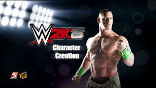 WWE 2K15 PC Character Creation
