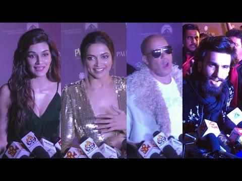 xXx Return Of Xander Cage India Premiere - Deepika, Vin Diesel, Ranveer Singh, Kriti Sanon