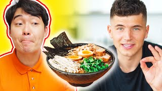 Uncle Roger Review NICK DIGIOVANNI Ramen (Masterchef Finalist)