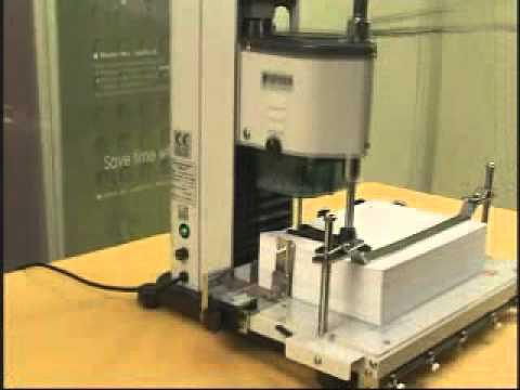 Perforadora de papel fp iii100 youtube - Papel de vinilo para cocinas ...