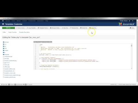 Joomla 3 How To Edit Template Css/php Files, Create Overrides Of Component Layouts