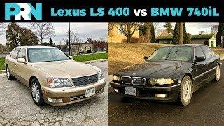 Ultimate lexus ls400 v8 soundsdriftburnout compilation lexus ls 400 vs bmw 740il testdrive showdown publicscrutiny Image collections