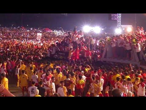 Thousands flock to Luneta Park for Traslacion 2019