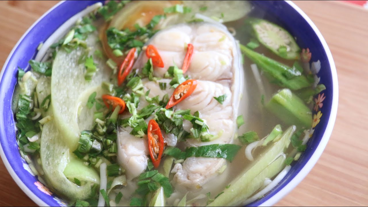 Vietnamese Sweet And Sour Soup With Catfish
