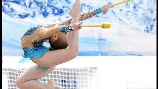 #19 Элементы мастерства и просто интересные штучки с предметами художественной гимнастики