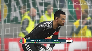 Africa Cup Of Nations Final | CAMEROON Vs EGYPT | Penalty Shootout |  PES 2017