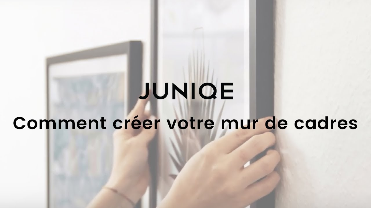 Comment cr er votre mur de cadres juniqe tutoriel vid o youtube - Comment faire un mur de photo ...