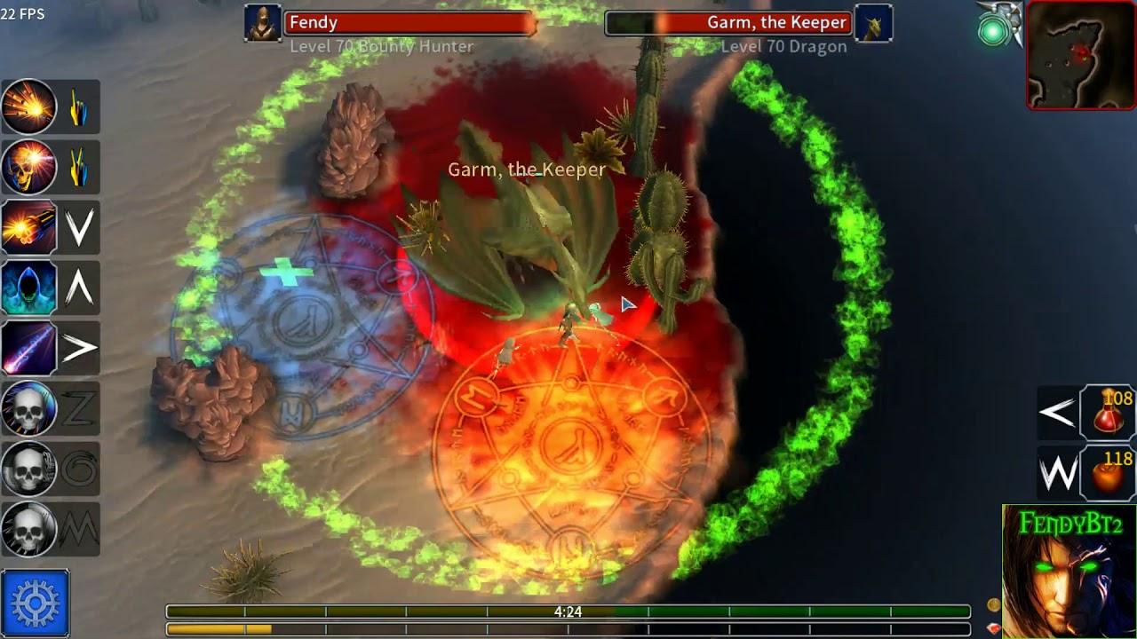 Eternium v1 3 41 Bounty Hunter fight Garm    (BOSS)