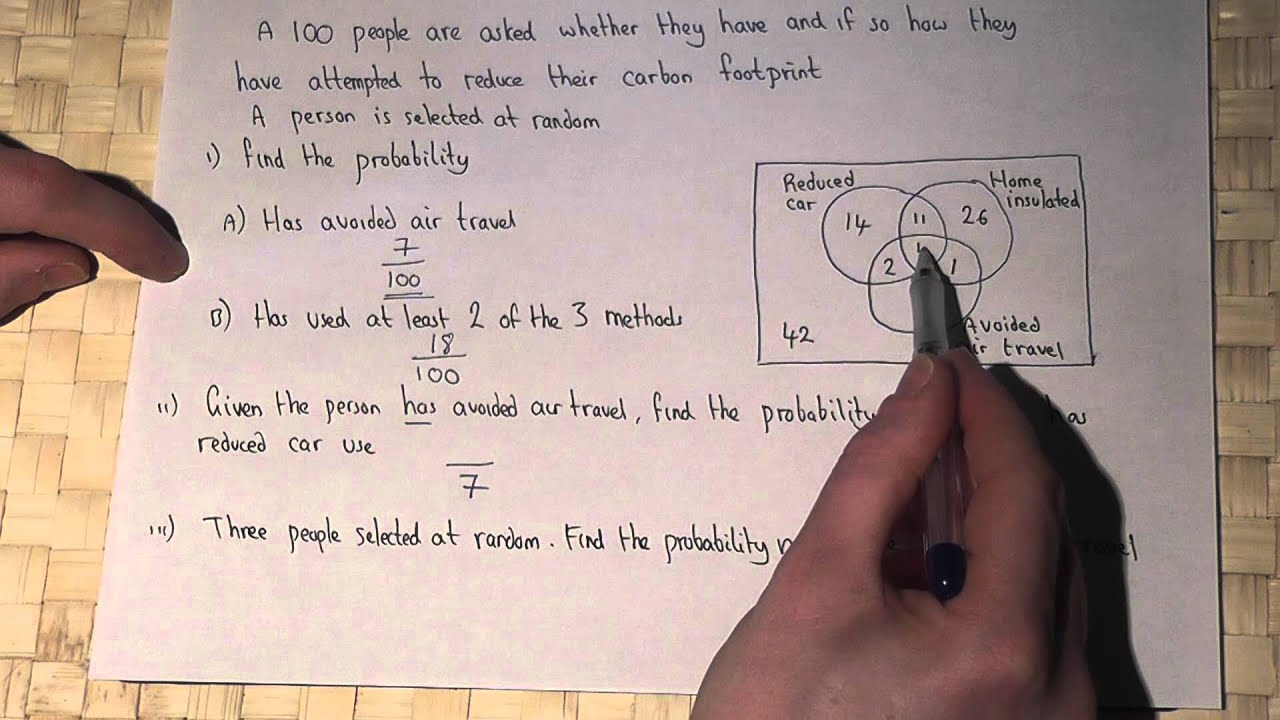 Probability venn diagrams and conditional probability youtube ccuart