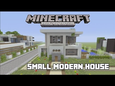 Lets Build a Small Modern House in Minecraft YouTube