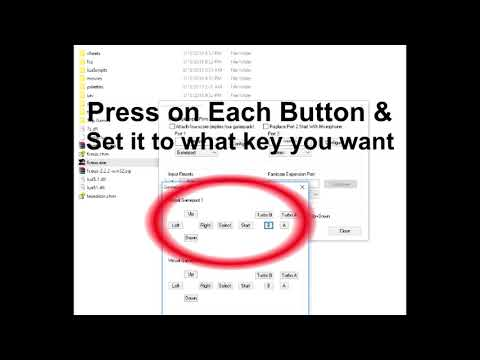 How to Setup Controls For Nes Emulator fceux-2.2.2