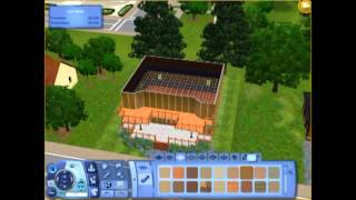 The Sims 3: Let's Build- Ep 1, John's Western Dive Bar