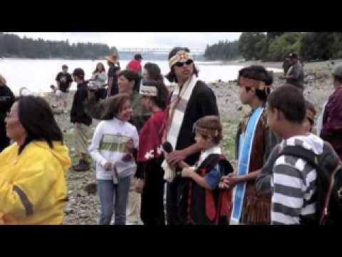 Clatsop Nehalem Canoe Journey and Warm Springs