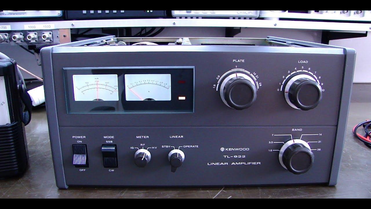 ALPHA TELECOM: REVISÃO PREMIUM AMPLIFICADOR LINEAR KENWOOD TL-922