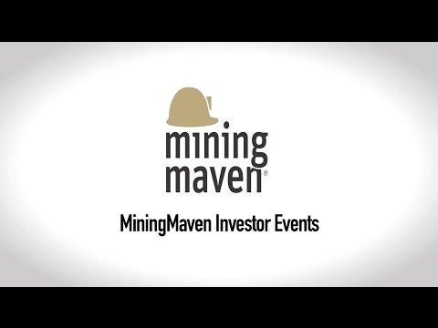 MiningMaven Investor Events