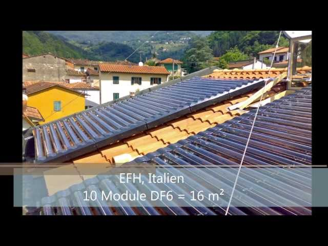 augusta-solar GmbH Referenzbilder für DF und HP Solaranlagen