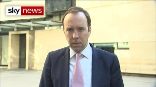 Health Secretary says it's 'unbelievable' some are breaking lockdown rules
