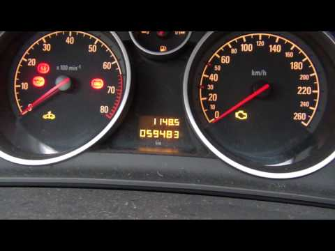 Коды ошибок на Opel Astra H