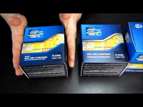 Intel Core i5 2300 LGA1155 CPU Processor Unboxing Linus Tech Tips