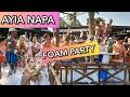 AYIA NAPA NISSI BEACH Foam Party