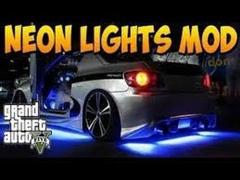gta v online neon lights mod interior underglow car neon light youtube. Black Bedroom Furniture Sets. Home Design Ideas