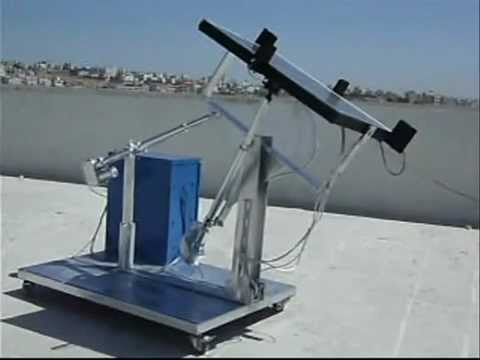 my (self - powered ) solar tracking system