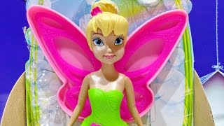 Disney Fairies Bubble Tink ★ Fly And Make Pixie Bubbles With Think