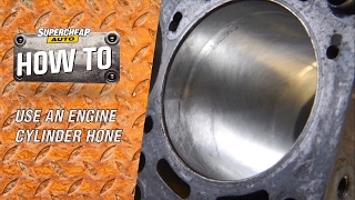 Honing an Engine Cylinder // ToolPRO Engine Cylinder Hone