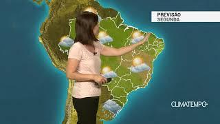 Previsão Brasil – Chuva intensa e ventos fortes no Sul