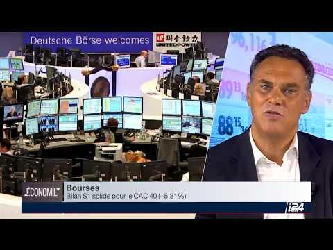 Eric Lewin sur i24 News - La Bourse au Quotidien - 05 juillet 2017