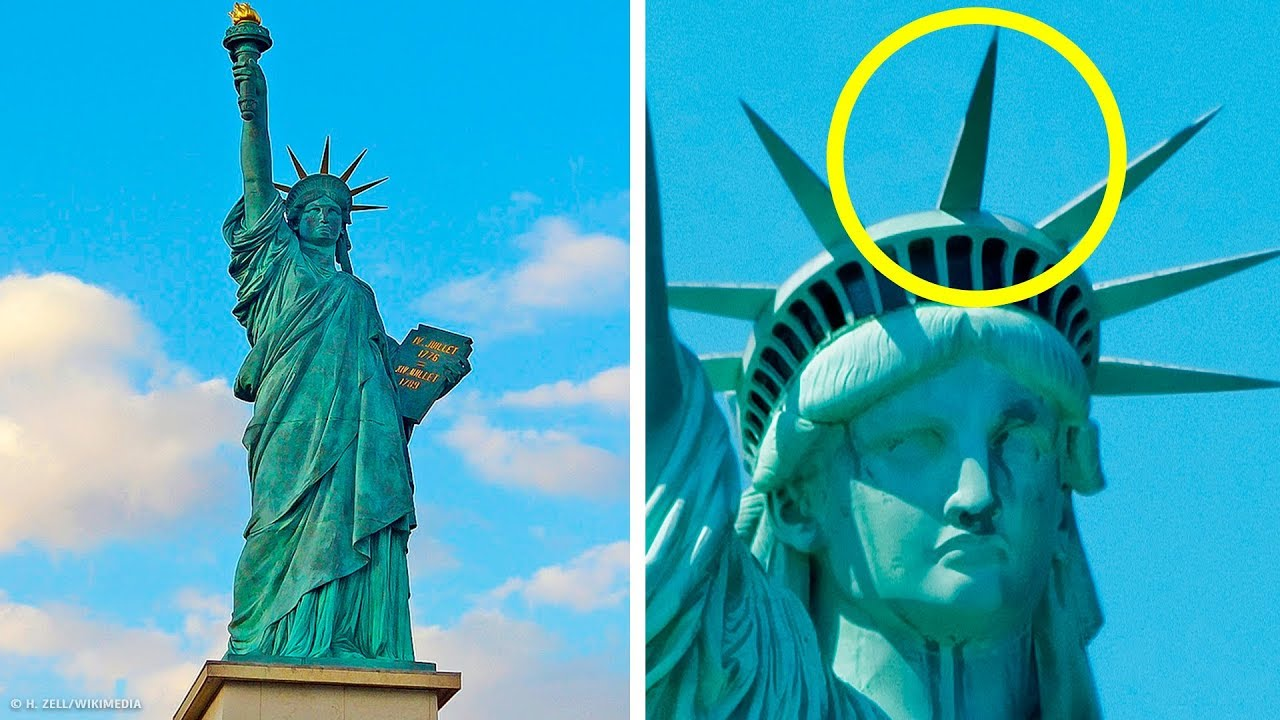 9 Secrets Of The Statue Of Liberty Most Americans Don T Know Youtube