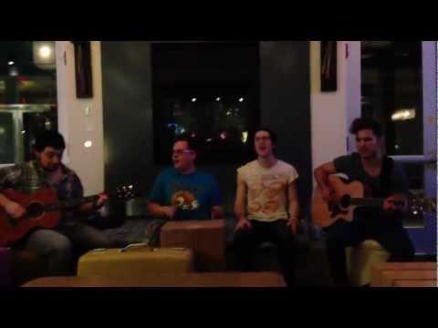 WALK THE MOON - Fixin' (acoustic) @ Aloft Hotel Jacksonville 12/10/12