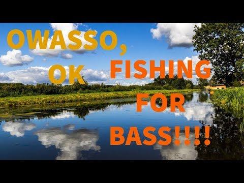 Fishing In Owasso Oklahoma ( Near Tulsa Oklahoma) For BASS!