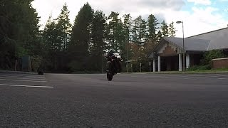 Learning to wheelie/ Honda CBR650F Wheelie