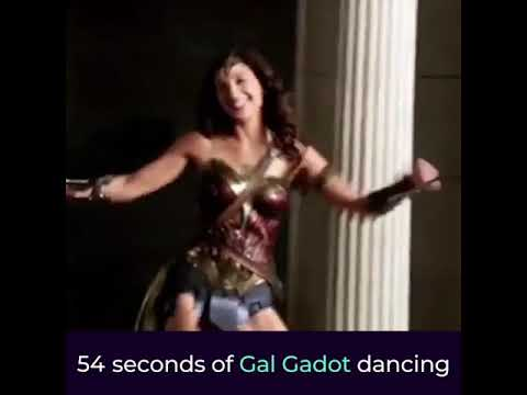 60 Seconds of Random Gal Gadot Dance Footage