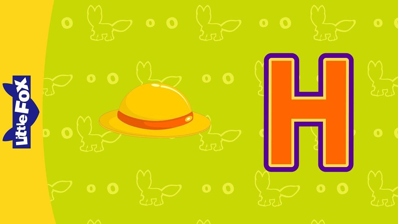 Letter H Phonics Songs Little Fox Animated Songs For Kids Youtube