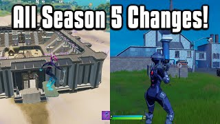 Everything New In Fortnite Chapter 2 Season 5! - Battle Pass, Map, Weapons, & More!