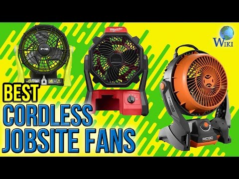 6 Best Cordless Jobsite Fans 2017