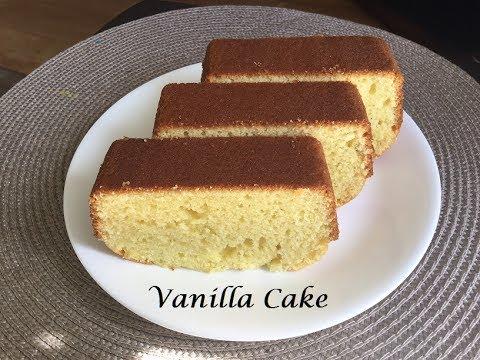 Basic Vanilla sponge Cake/ Homemade Vanilla Cake Recipe in Hindi - YouTube