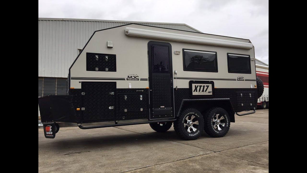 Mdc Xt17 Hrt Hard Roof Tandom Axle Offroad Caravan On
