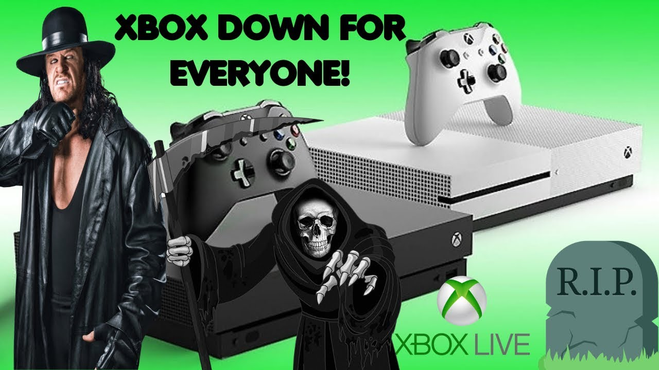Xbox One Down For Everybody!? | Black Screen of Death 2019 | Xbox Live  Outage