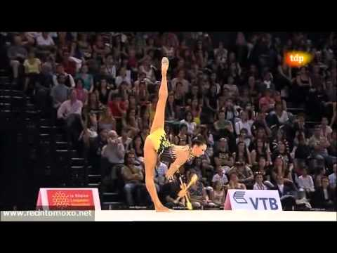 Liubov Charkashyna Clubs Final World Championships Montpellier 2011 AUDIO PROBLEMS SOLVED