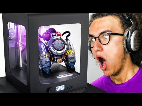 3D PRINTING SECRET FORTNITE ITEMS IN REAL LIFE!