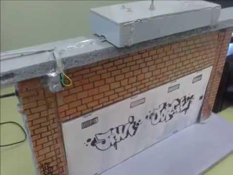 Proyecto tecnologia 4 eso puerta de garaje levadiza ies - Proyecto puerta de garaje ...