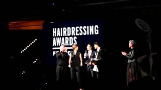 Loic Masurel - Hairdresser of the year