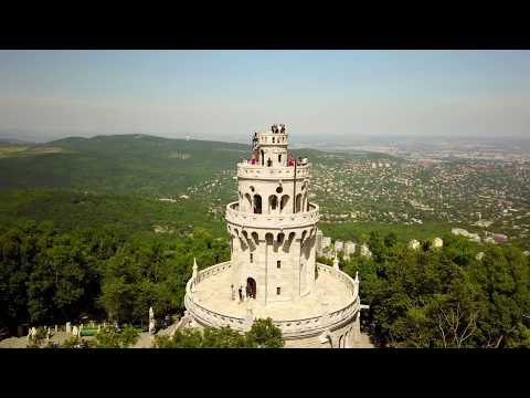 Hungary from Above - Budapest Normafa / Elizabeth Lookout / Libegõ / Erzsébet-kilátó 4K/UHD