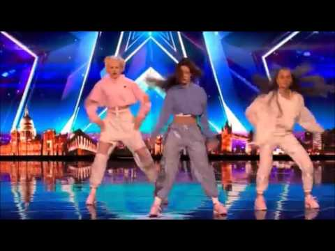 Code 3: Young & COOL Girl Dance Group | Auditions 7 | Britain's Got Talent 2017