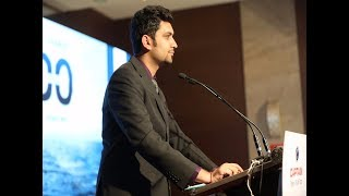 aman malhotra hosting for captain tractors at novotel imagica anchors for events