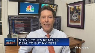 Billionaire steve cohen has reportedly reached a deal to buy the new york mets. with cnbc's brian sullivan and fast money traders, karen finerman, guy ad...