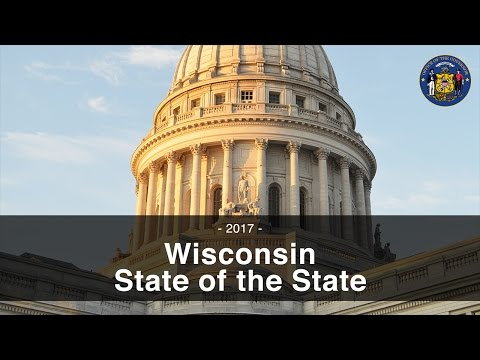 2017 Wisconsin State of the State Address
